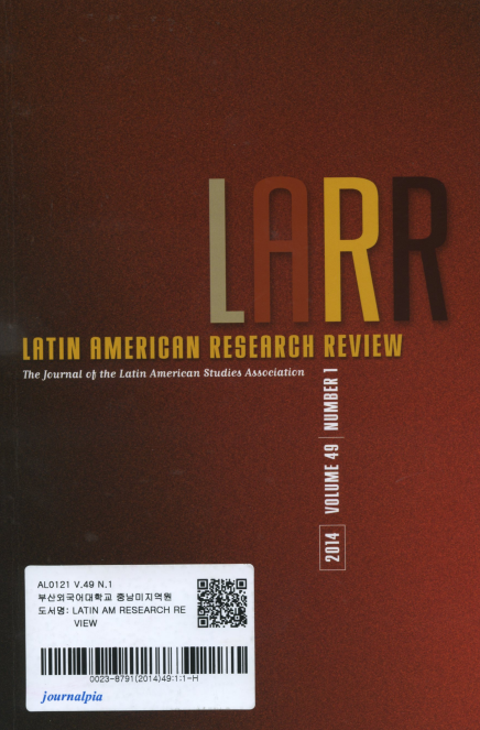 Latin American Research Review Vol. 49 No.1