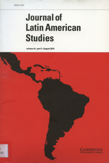 Journal of Latin American Studies Vol.42 Part3 : August 2010