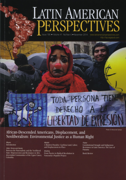 Latin American Perspectives Issue 199 Vol.41 No.6  November 2014