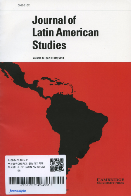Journal of Latin American Studies Vol.46 part 2: May 2014