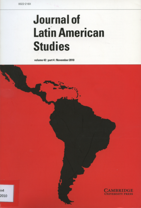 Journal of Latin American Studies Vol.42 Part4 : November 2010