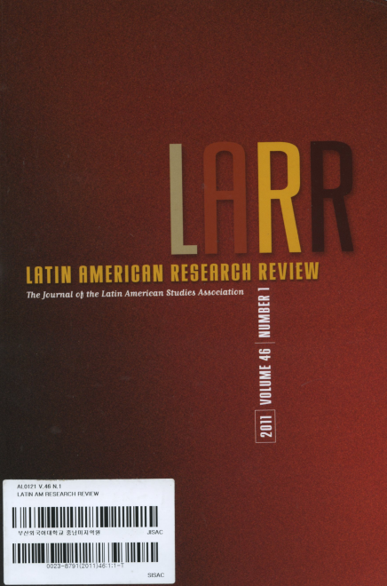Latin American Research Review Vol.46 No.1 2011