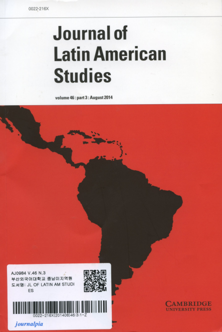 Journal of Latin American Studies Vol.46 part 3: August 2014