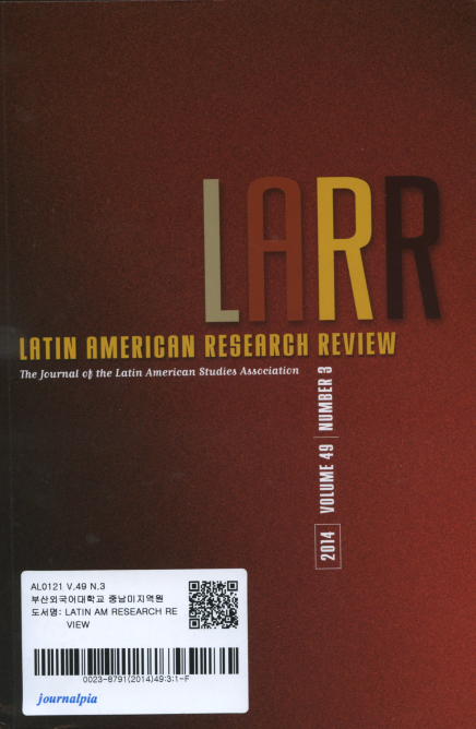 Latin American Research Review Vol.49 No.3