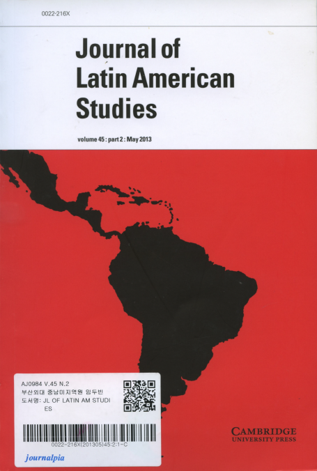 Journal of Latin American Studies Vol.45 Part 2 :May 2013