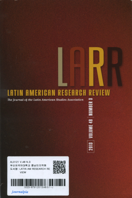 LATIN AMERICAN RESEARCH REVIEW Vol.48 No.3