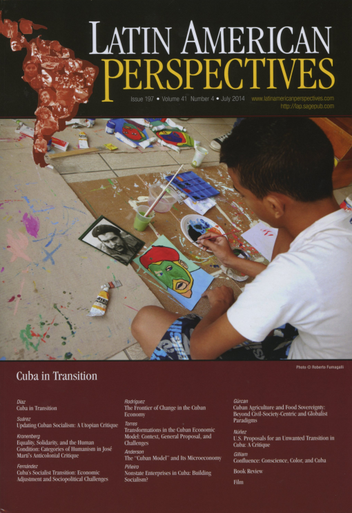 Latin American Perspectives Issue 197 July  2014 Volume 41 Number 4
