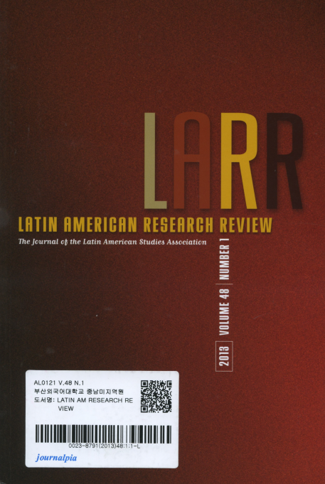 LATIN AMERICAN RESEARCH REVIEW Vol.48 No.1