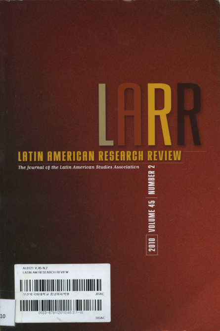 Latin American Research Review Vol.45 No.2 2010