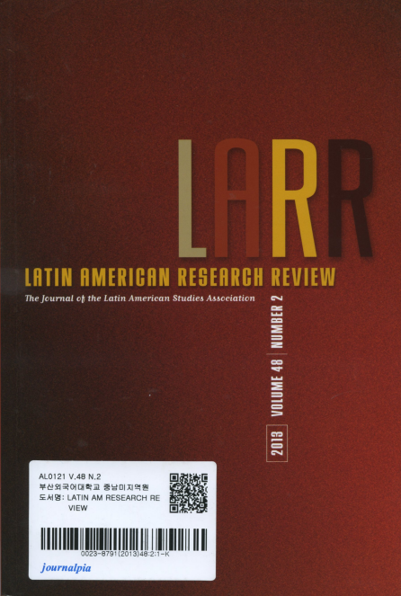 LATIN AMERICAN RESEARCH REVIEW Vol.48 No.2