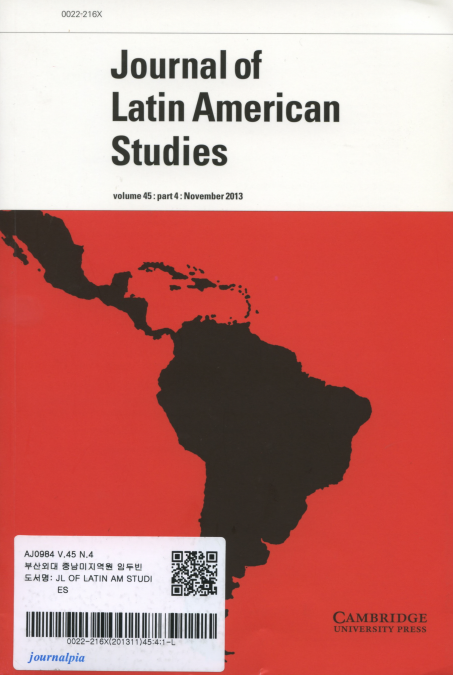 Journal of Latin American Studies Vol.45 part4: November 2013
