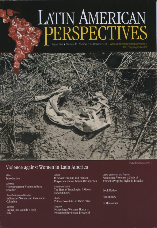 Latin American Perspectives Issue 194 Vol.41 No.1