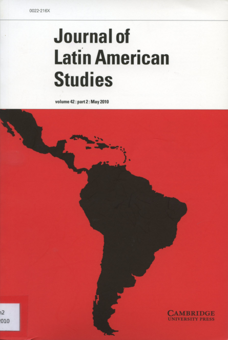 Journal of Latin American Studies Vol.42 Part2 : May 2010