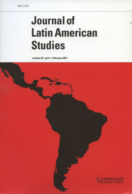 Journal of Latin American Studies Vol.43 Part1 :  2011