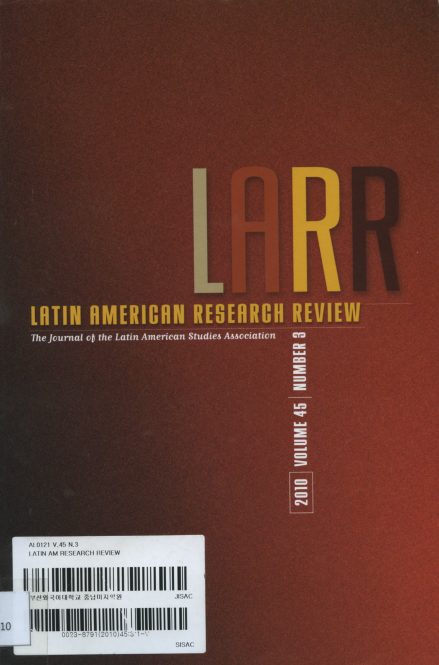Latin American Research Review Vol.45 No.3 2010