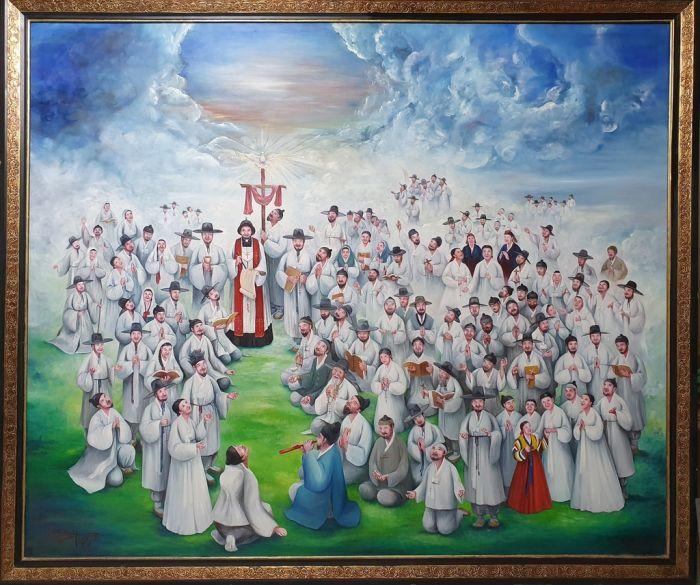'교황 모국' 아르헨 대성당에 한국 순교 성인·복자화 걸렸다