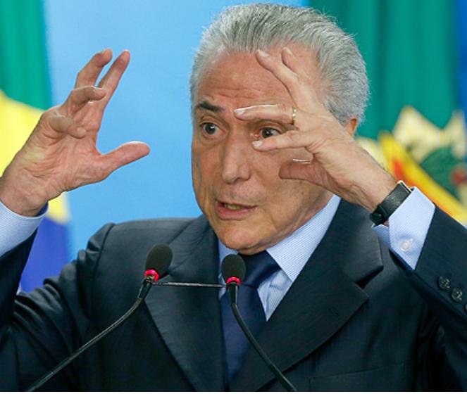 떼메르 정부의 브라질 연금개혁 추진