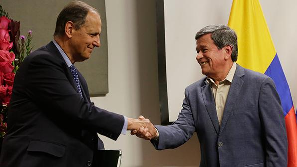콜롬비아 정부, 민족해방군(ELN)과 정전합의