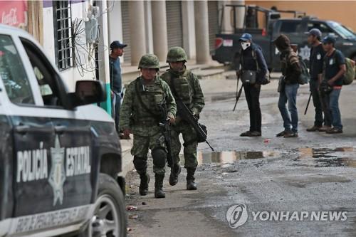 멕시코 하원, 국내 치안 담당 국가방위대 창설안 가결