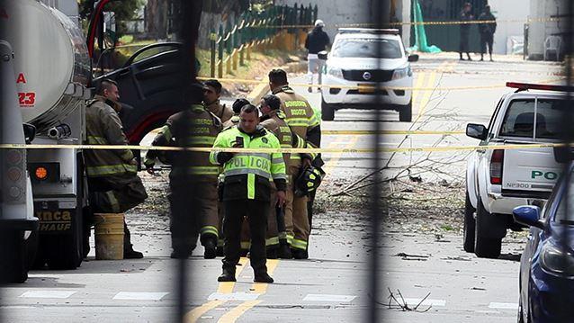 콜롬비아 경찰학교 폭탄테러 사망자 21명으로 늘어