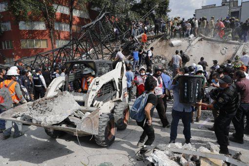'멕시코 7.1 강진' 사망자 119명으로 늘어…대형참사 번지나